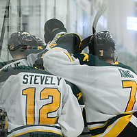 in action during the Men's Hockey Shine On Game on December 2 at Co-operators arena. Credit: Arthur Ward/Arthur Images