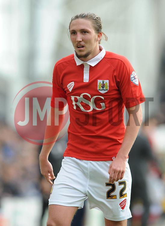 Bristol City's Luke Ayling - Photo mandatory by-line: Dougie Allward/JMP - Mobile: 07966 386802 - 11/04/2015 - SPORT - Football - Preston - Deepdale - Preston North End v Bristol City - Sky Bet League One
