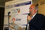Prersentazione sponsor ENEL a Milano<br /> fausto maifredi