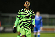 Forest Green Rovers Robert Hall(15), on loan from Oxford United during the EFL Sky Bet League 2 match between Forest Green Rovers and Carlisle United at the New Lawn, Forest Green, United Kingdom on 28 January 2020.