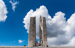 25.06.2016, Vimy, FRA, das kanadische Denkmal von Vimy, im Bild Ansicht des Denkmals. Zwei weiße Türme dominieren die Ebene von Lens und erinnern an die Schlacht von Vimy, die im April 1917 stattfand // The Canadian National Vimy Memorial is a memorial site dedicated to the memory of Canadian Expeditionary Force members killed during the First World War at Vimy, France on 2016/06/25. EXPA Pictures © 2016, PhotoCredit: EXPA/ JFK