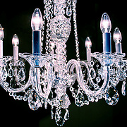 Chandelier, London, England (December 2004)