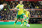 Norwich City midfielder Marco Stiepermann (18)  during the EFL Sky Bet Championship match between Norwich City and Blackburn Rovers at Carrow Road, Norwich, England on 27 April 2019.