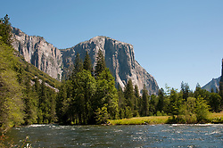 El Capitan, Merced River, Yosemite National Park, California, USA.  Photo copyright Lee Foster.  Photo # california122276