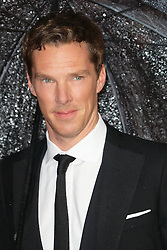 © Licensed to London News Pictures. 08/10/2014, UK. Benedict Cumberbatch, The Imitation Game - BFI London Film Festival Opening Night Gala, Leicester Square, London UK, 08 October 2014. Photo credit : Richard Goldschmidt/Piqtured/LNP