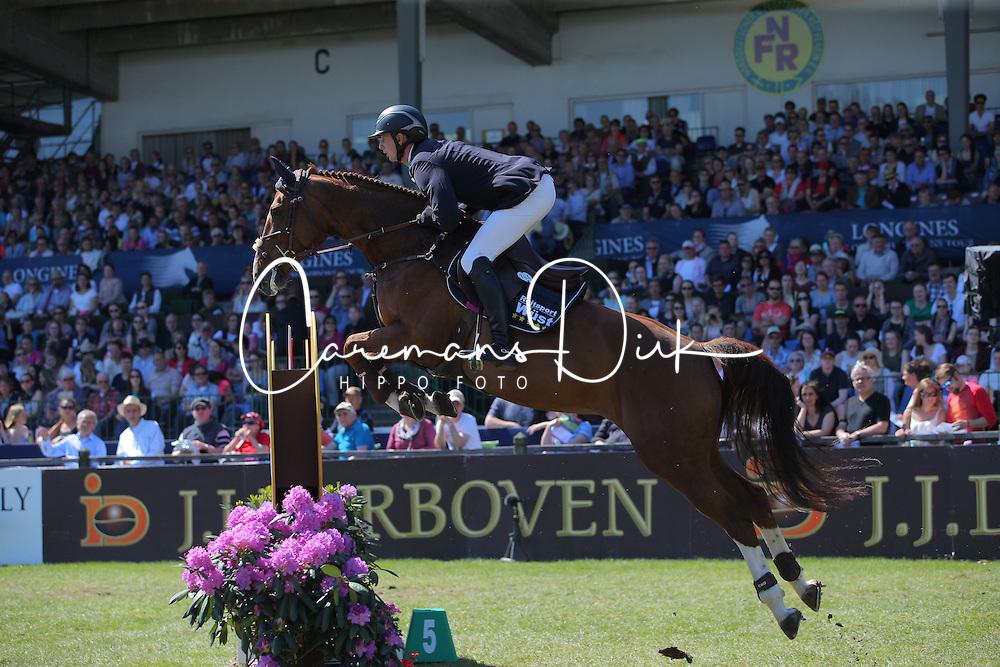 Hassmann Felix, (GER), Horse Gym S Balance<br /> Longines Global Champions Tour - Grand Prix of Hamburg<br /> Hamburg - Hamburger Derby 2016<br /> © Hippo Foto - Stefan Lafrentz