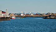 The island of Röst, Lofoten, Norway in February 2013.