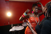 SOMI backstage at The Album release for ' If the rains come first ' and performance by Somi held at Le Poisson Rogue on October 13, 2009 in New York City