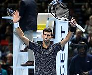 2018 Nitto ATP Tennis Finals - 14 Nov 2018