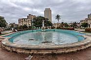 Plaza de Villalón, Havana Vedado, Cuba.