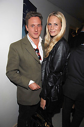 HARRY BECHER and POPPY DELEVINGNE at a lecture about a record-breaking trip by Kiting to the Centre of Antarctica by Henry Cookson, Rupert Longsdon and Rory Sweet held at the Royal Geographical Society on 31st October 2007.<br />