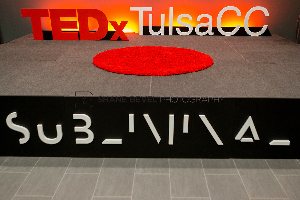 4/29/17 4:37:11 PM -- Tedx TulsaCC event at the Center for Creativity. Released under Creative Commons license for non commercial, non derivative usage. <br /> <br /> Photo by Shane Bevel