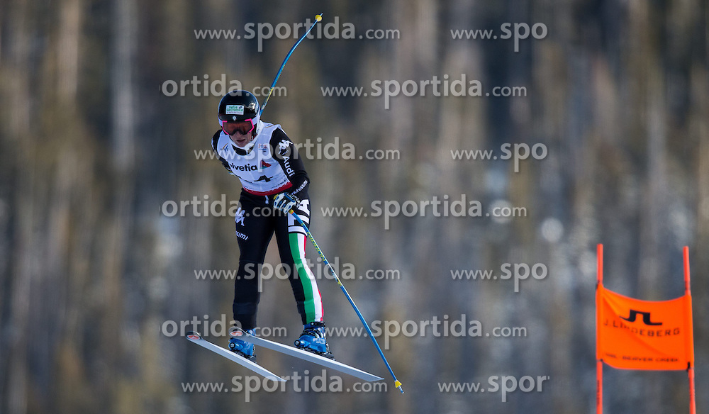 02.02.2015, Raptor Strecke, Beaver Creek, USA, FIS Weltmeisterschaften Ski Alpin, Damen, Abfahrt, 1. Training, im Bild Elena Fanchini (ITA) // Elena Fanchini of Italy in action during first training run for the ladie's Downhill of FIS Ski World Championships 2015 at the Raptor Course in Beaver Creek, United States on 2015/02/02. EXPA Pictures © 2015, PhotoCredit: EXPA/ Johann Groder