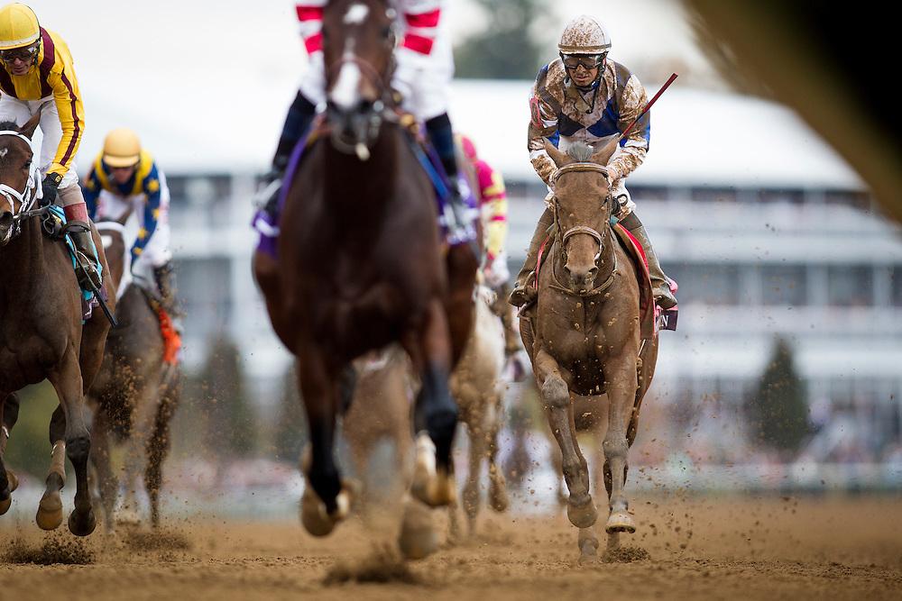 October 31, 2015:  Dothraki Queen in the Breeders' Cup Juvenile at Keeneland Race Track in Lexington, Kentucky. Evers/ESW/CSM