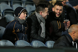 Worcester Warriors fans - Rogan Thomson/JMP - 04/11/2016 - RUGBY UNION - Sixways Stadium - Worcester, England - Worcester Warriors v Bristol Rugby - The Anglo Welsh Cup.