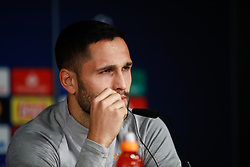 November 5, 2019, Madrid, MADRID, SPAIN: Florin Andone, player of Galatasaray from Romania, attends during the press conference prior to the UEFA Champions League football match against Real Madrid CF at Santiago Bernabeu Stadium on November 05, 2019, in Madrid, Spain. (Credit Image: © AFP7 via ZUMA Wire)