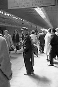 Man at Kingsbridge Station..19.07.1962