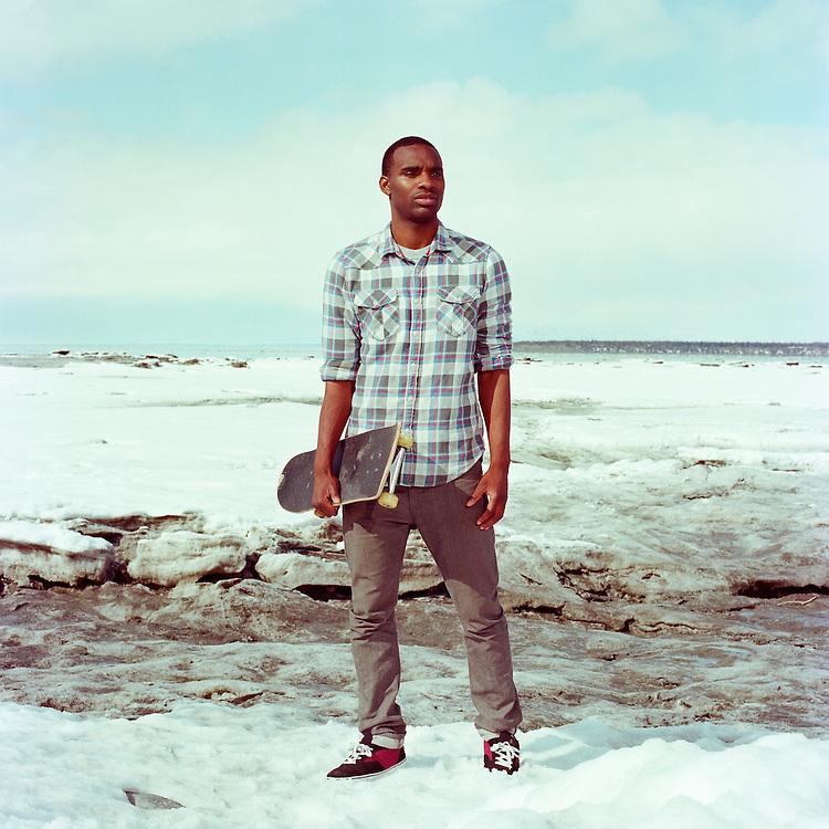 ANCHORAGE, ALASKA - 2013: Preston Pollard.