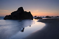 Sunset on Harris Beach, Harris Beach State Park, Oregon