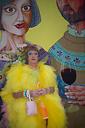GRAYSON PERRY, Royal Academy Summer exhibition private view. Piccadilly. London. 3 June 2015