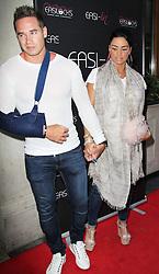 © London News Pictures. Kieran Hayler and Katie Price arriving at the Easilocks VIP launch, Sanctum Soho Hotel London UK, 09 July 2013. Photo credit: Richard Goldschmidt/LNP