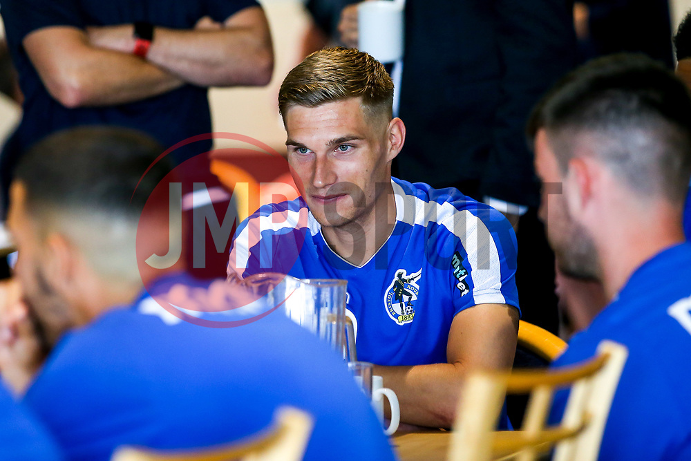 Gavin Reilly of Bristol Rovers during the first day of preseason training ahead of the 2019/20 Sky Bet League One Season - Mandatory by-line: Robbie Stephenson/JMP - 27/06/2019 - FOOTBALL - The Lawns - Bristol, England - Bristol Rovers Return for Preseason Training