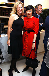 Left to righr, ALANNAH WESTON and ALICE RAWSTHORN at a dinner hosted by Cartier to celebrate the opening of the 2004 Frieze Art Fair, held at Yauacha 15-17 Broadwick Street, London W1 on 13th October 2004.<br />