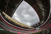 General view of Wembley Stadium during the FA Trophy match between Grimsby Town FC and Halifax Town at Wembley Stadium, London, England on 22 May 2016. Photo by Mark P Doherty.