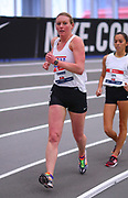 Chelsea Conway competes during the 3000 yard race walk during the USA Indoor Track and Field Championships in Staten Island, NY, Sunday, Feb 24, 2019. (Rich Graessle/Image of Sport)