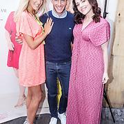NLD/Amsterdam/20150408 - Launch Beautygloss by JOSH V dresses #BGxJV, Josh Veldhuizen, Morris Nieuwenhuizen  en Mascha Feoktistova