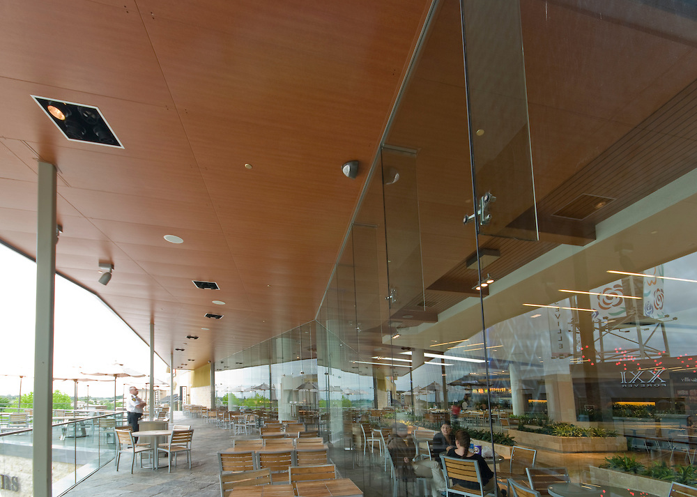Ceiling Plus Arboreal panels at Westfield Mall, Roseville, CA