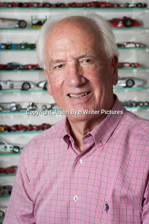 Karl Ludvigsen, Author and ex motor industry executive. 26th September 2014<br /> <br /> Photograph by Jason Bye/Writer Pictures<br /> <br /> WORLD RIGHTS
