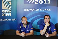 Invercargill-Rugby,RWC,Romania press conference
