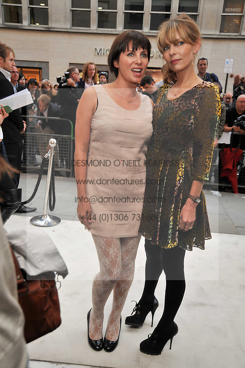 Left to right, SADIE FROST and JEMIMA FRENCH at a reception hosted by Vogue and Burberry to celebrate the launch of Fashions Night Out - held at Burberry, 21-23 Bond Street, London on 10th September 2009.