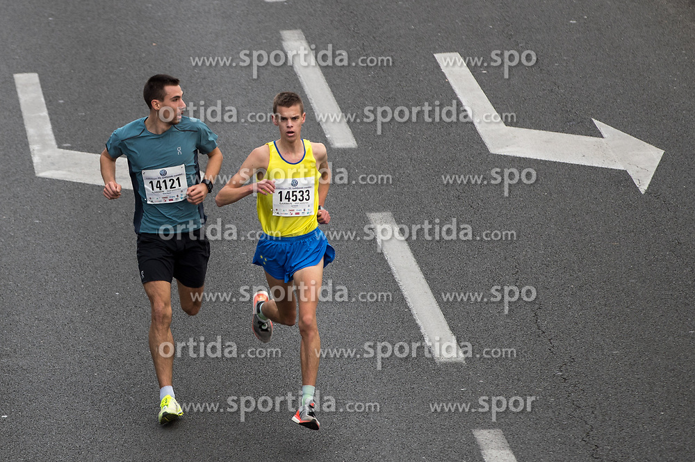 Jan Kokalj and Matej Sturm of Slovenia on 10km during 22nd Ljubljana Marathon 2017 on October 29, 2017 in Ljubljana, Slovenia. Photo by Matic Klansek Velej / Sportida