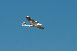 Catalina Flying Boat flies over cleethorpes sea front Summer 2012<br />