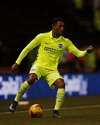 Rajiv van La Parra of Brighton & Hove Albion in action - Mandatory byline: Jack Phillips / JMP - 07966386802 - 12/12/2015 - FOOTBALL - The iPro Stadium - Derby, Derbyshire - Derby County v Brighton & Hove Albion - Sky Bet Championship