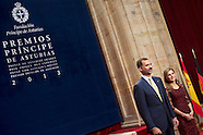 102513 Principes de Asturias Awards 2013 - Day 2