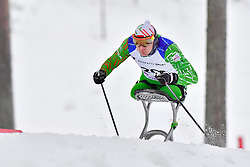 LOBAN Dzmitry, BLR, LW12 at the 2018 ParaNordic World Cup Vuokatti in Finland
