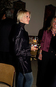 Lady Alexandra Gordon-Lennox  	 	 .Dinner at San Lorenzo, Beauchamp Place after Tod's hosts Book signing with Dante Ferretti celebrating the launch of 'Ferretti,- The art of production design' by Dante Ferretti. 19 April 2005.  ONE TIME USE ONLY - DO NOT ARCHIVE  © Copyright Photograph by Dafydd Jones 66 Stockwell Park Rd. London SW9 0DA Tel 020 7733 0108 www.dafjones.com