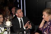 STEVE COOGAN; LADY JENNIFER STRINGER Luminous -Celebrating British Film and British Film Talent,  BFI gala dinner & auction. Guildhall. City of London. 6 October 2015.