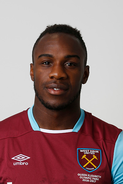 LONDON, ENGLAND - AUGUST 06:  Michail Antonio of West Ham poses during a Premier League portrait session on August 6, 2016 in London, England. (Photo by Tom Shaw/Getty Images)