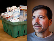 Edward J. Kenyon Jr, an electrician from Sanford, Maine, was diagnosed in May with multiple myeloma. Kenyon was uninsured for much of his chemo over the summer, but his pre-existing condition is now covered by insurance due to the new health care law passed in March.  Craig Dilger for The New York Times