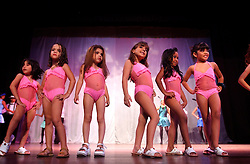 Contestants pose during  the Miss Mini Universe competition for children ages 6-10.  Venezuela has a deep culture of beauty, fashion and sex appeal. There are dozens of beauty pageants throughout the year for boys and girls of all ages..