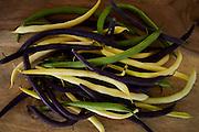 Green Beans, Wax Beans, Purple Beans