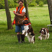 Field work session at Rock River Kennels in Beaver Dam, WI.  Photo was taken, June 2, 2014.  Photography by Melody Carranza.