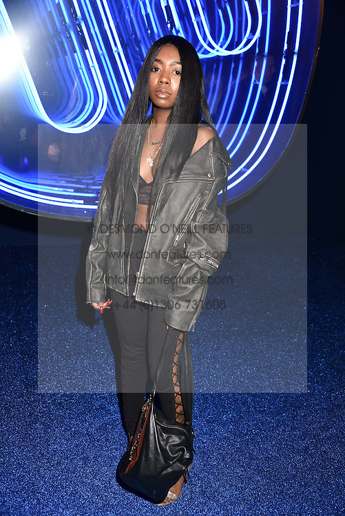 Siobhan Bell at the Warner Music & Ciroc Brit Awards party, Freemasons Hall, 60 Great Queen Street, London England. 22 February 2017.