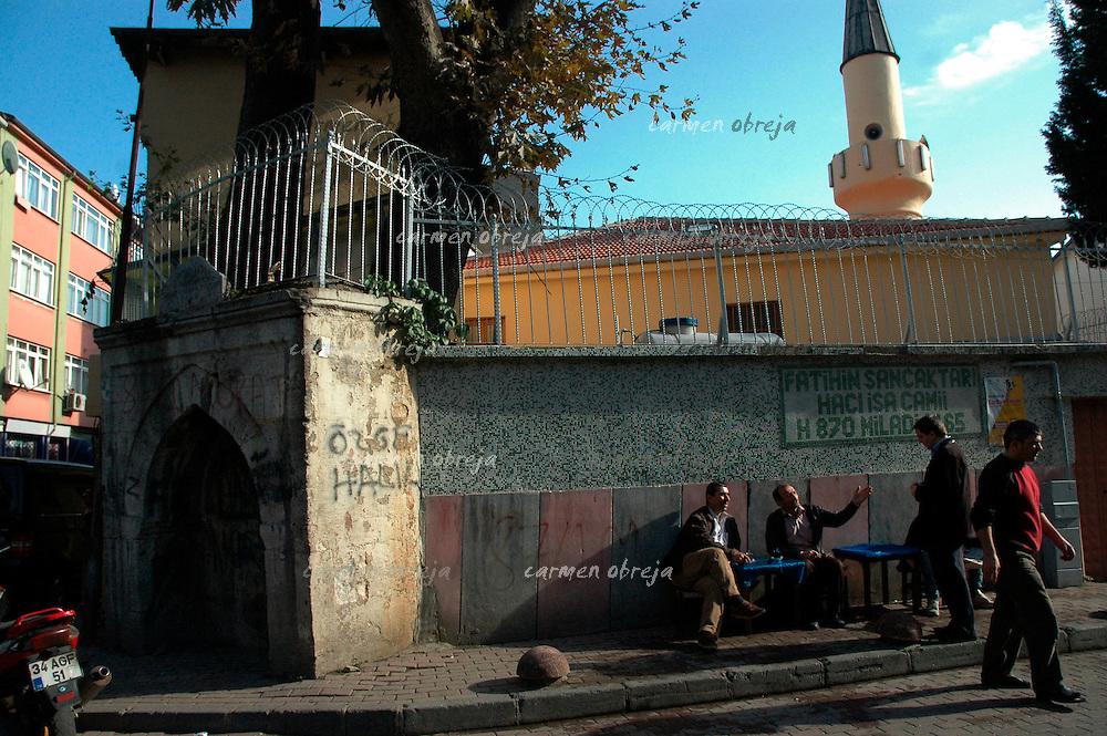 street scene in Balat district