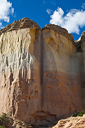 Echo Amphitheater Rock Formation in Abiquiu, NM
