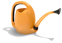 oxo watering can orange and black